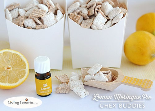 Lemon Meringue Pie Chex Party Mix recipe