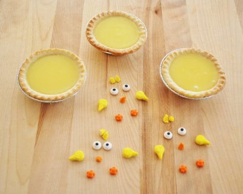How to Make Little Chick Lemon Tarts. A Cute Fun Food Recipe for Kids! LivingLocurto.com