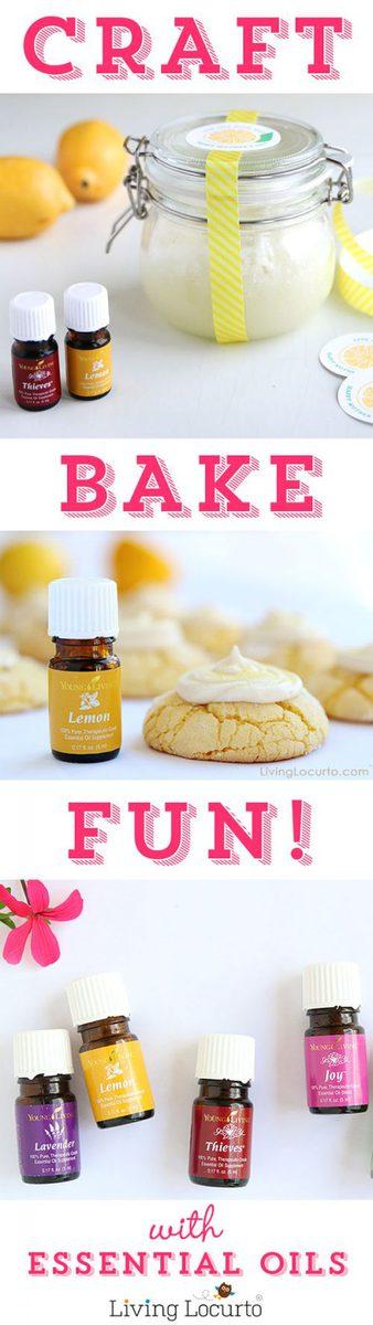 Recipes and crafts with Essentials Oils at LivingLocurto.com