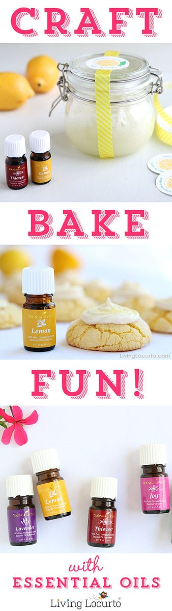 Recipes and crafts with Essentials Oils at LivingLocurto.com