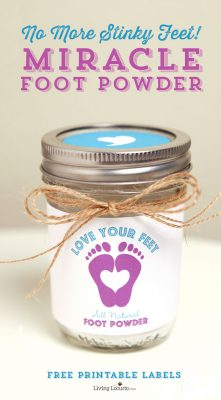 Miracle Foot Powder – No More Stinky Feet!