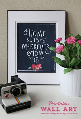 Mothers Day Printable Wall Art