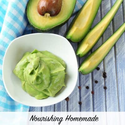 DIY Honey Avocado Face Mask