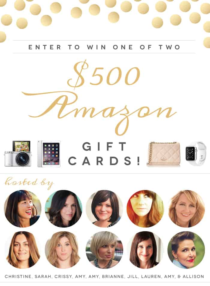 Epic Summer Giveaway! Chance to win one of two Amazon gift cards at LivingLocurto.com (good through July 31, 2015)