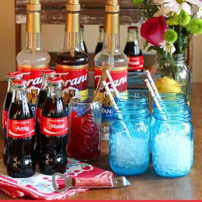 How to Make a DIY Coca-Cola Soda Bar