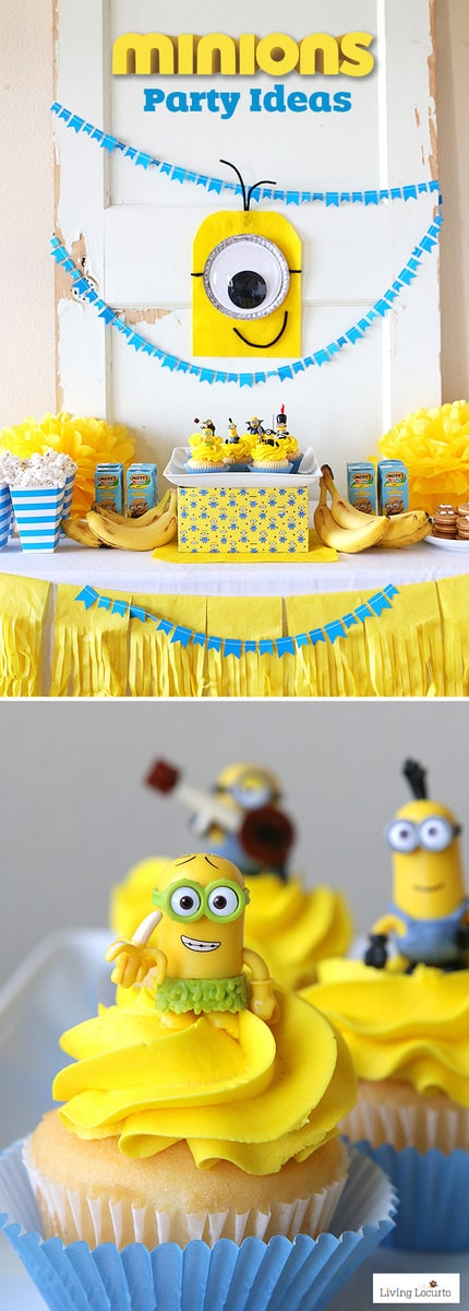 Minions Party Ideas | Despicable Me Birthday | Homemade ...