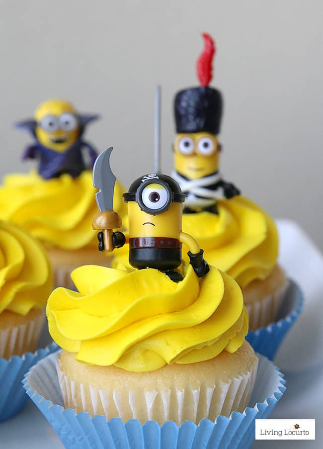 Cute Minions Cupcakes Fun DIY Ideas For A Party Or Despicable Me Minion Themed