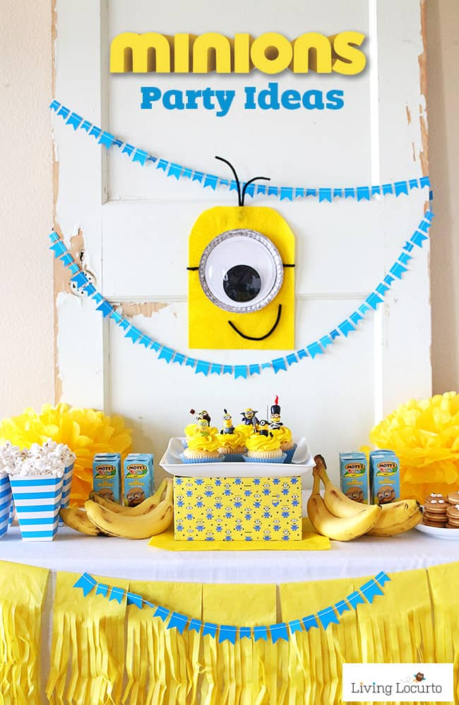 Simple And Cute Minions Party Ideas DIY For A Despicable Me Or