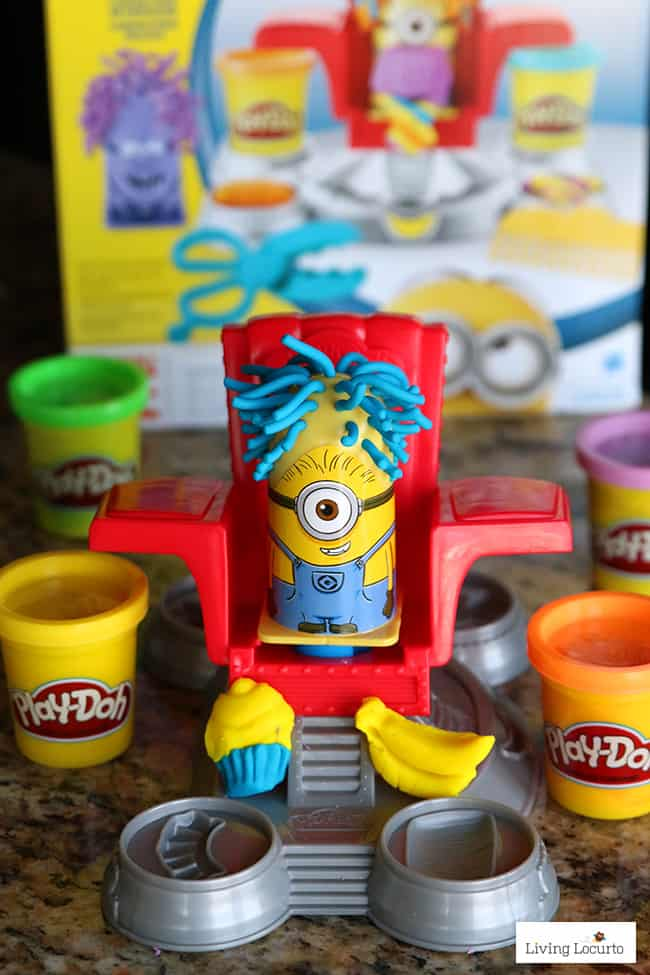 Minions-Playdough-Party-Activity