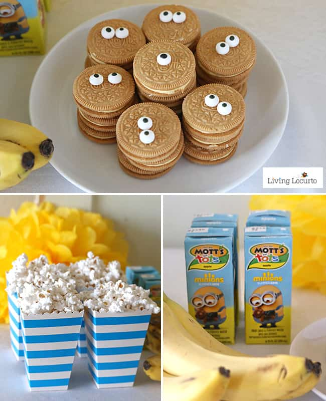 Cute Minions Food Fun DIY Ideas For A Party Or Despicable Me Minion Themed