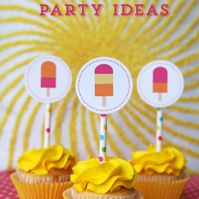 Popsicle Party Ideas (Printables)