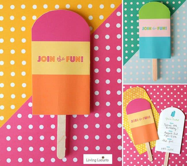 image regarding Popsicle Printable named Popsicle Social gathering Strategies - Do it yourself Printables - Residing Locurto