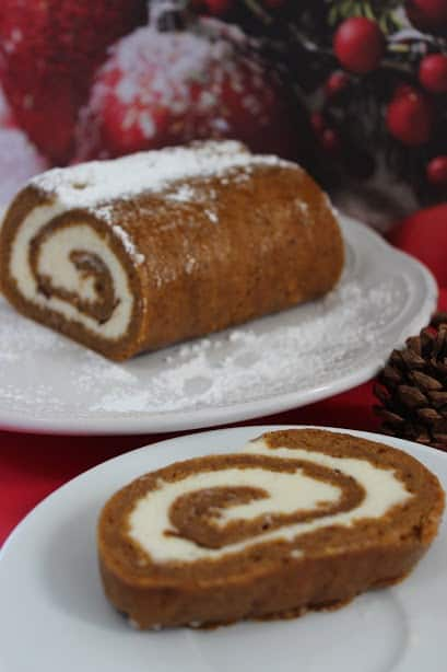 Fall calls for a Pumpkin Roll at your next party with this yummy recipe!