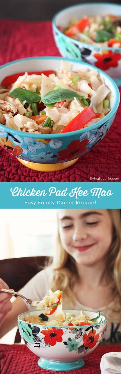 Blue apron family meals - A Classic Thai Dish From Blue Apron With A Twist This Chicken Pad Kee Mao