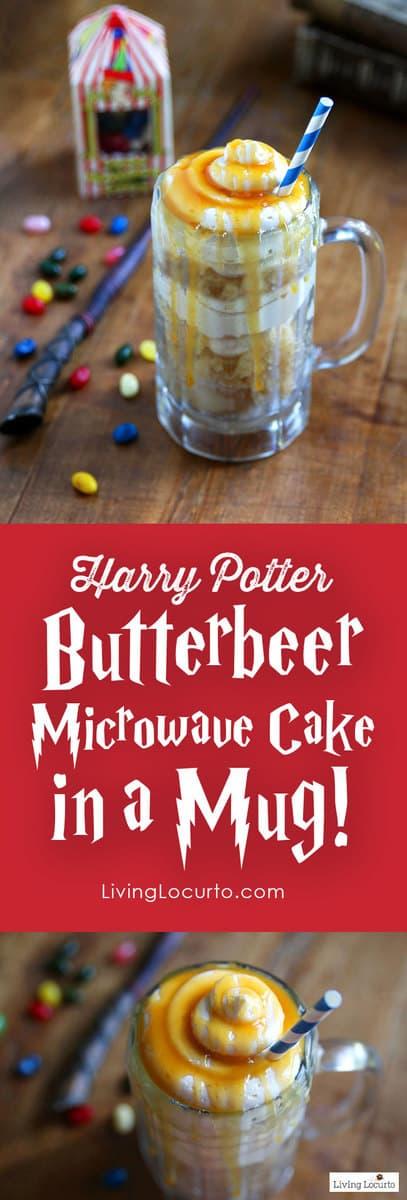 Homemade Harry Potter Erbeer Cake Microwave In A Mug Easy Dessert Recipe That S