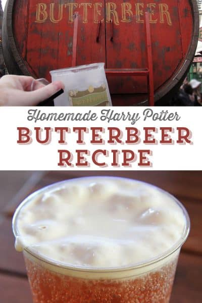 Homemade Butterbeer Recipe