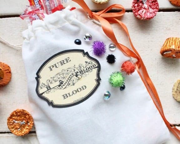 Simple DIY Halloween Treat Bags
