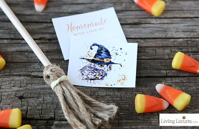 Halloween Poo Brew is an easy DIY Homemade Toilet Spray Recipe with printable labels! A few sprays will magically cast a spell and get rid of any smell! By @livinglocurto