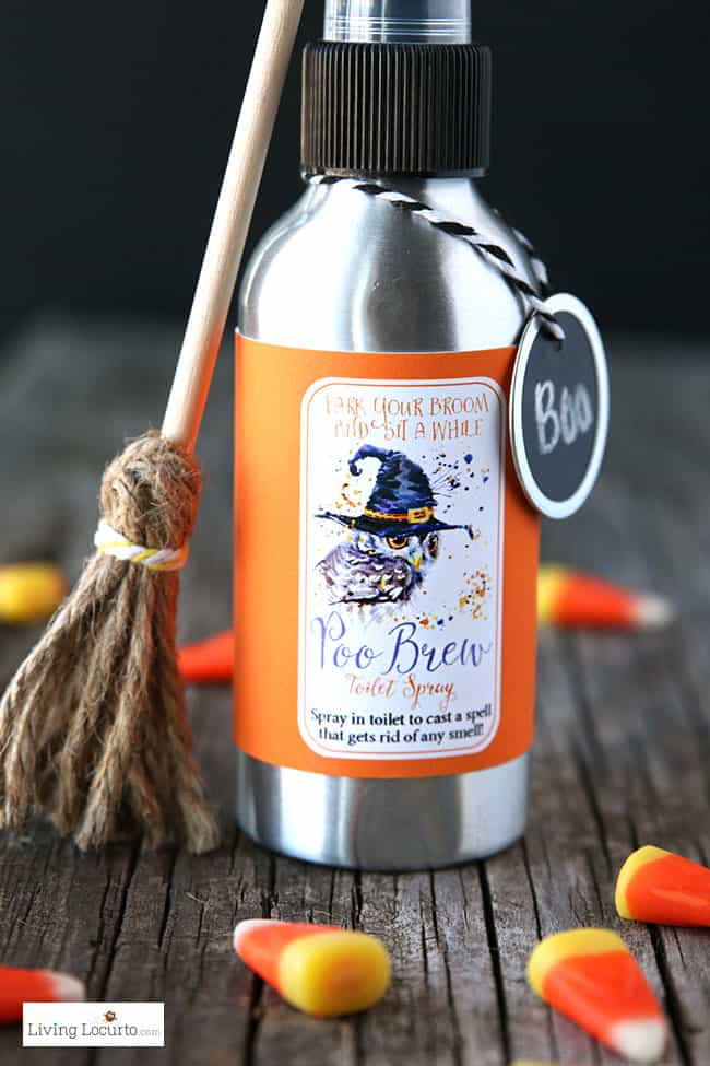 Halloween Poo Brew Homemade Toilet Spray And Printables