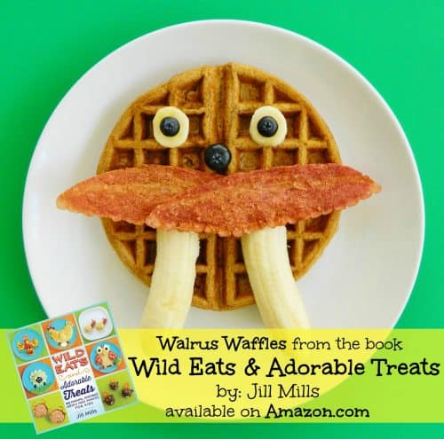 Wild Eats and Adorable Treats by Jill Mills is a fun recipe book packed full of easy to make Animal-inspired snacks & meals for kids.
