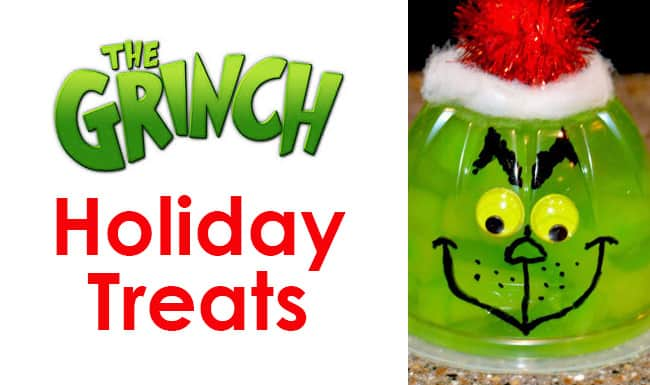 The Grinch Christmas Treats