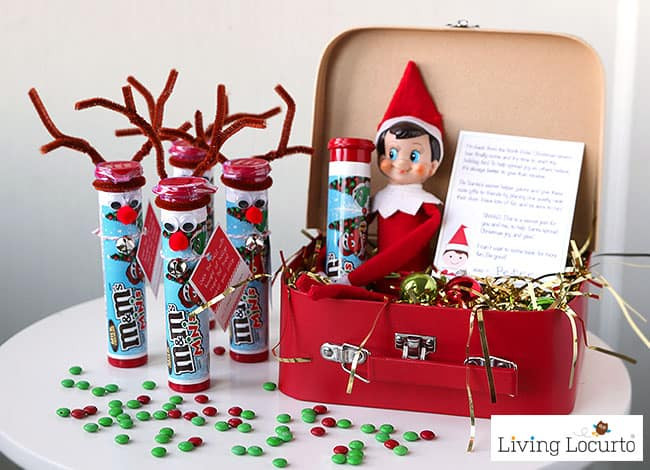 Random Acts of Kindness Elf Arrival Letter and gift ideas for your Elf on the Shelf.