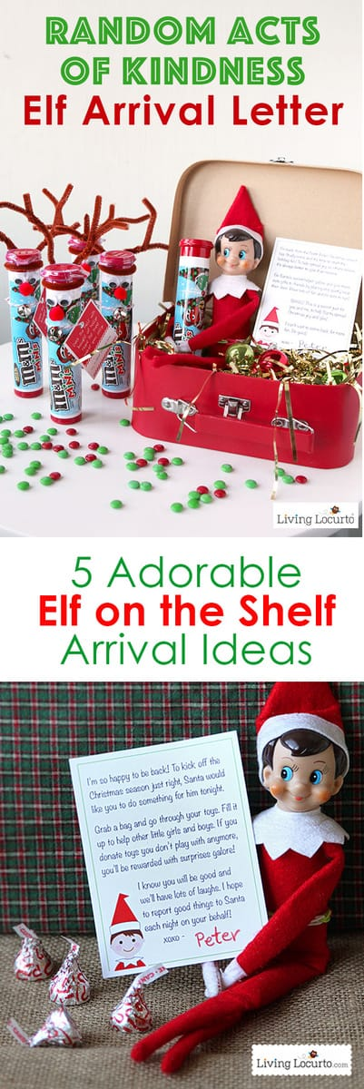 creative elf on the shelf arrival ideas unique printables and cute ideas direct from the