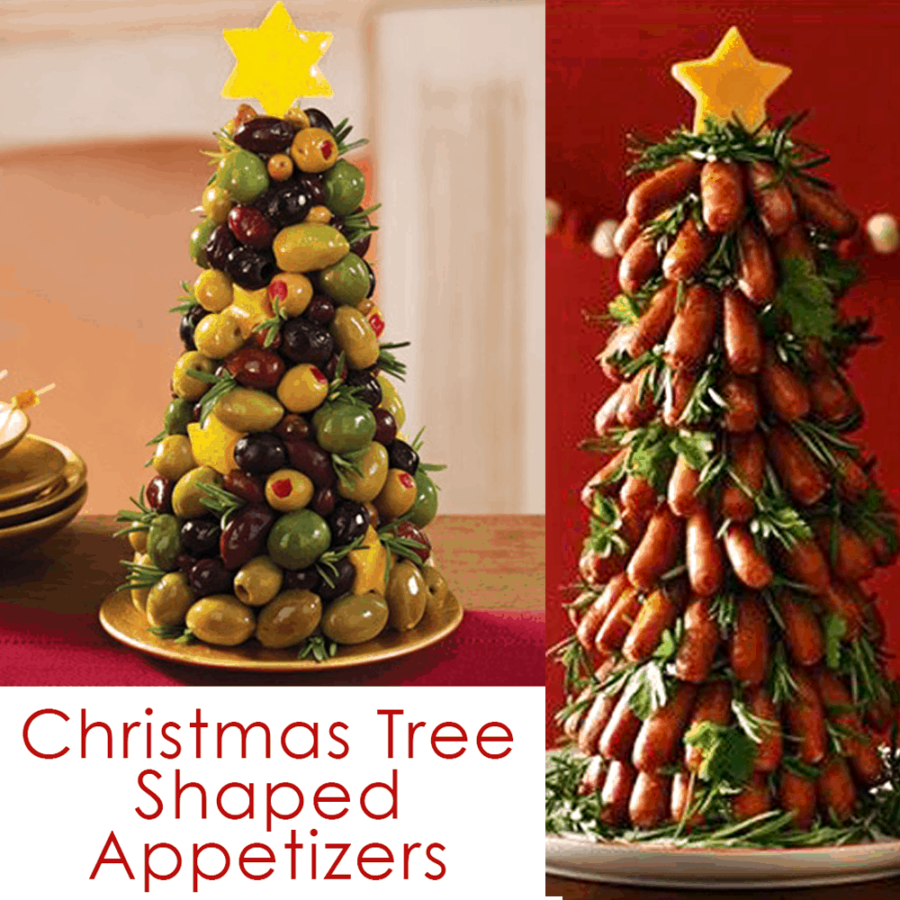 Christmas tree food fun holiday party recipe ideas christmas tree food fun holiday party appetizers christmas tree shaped appetizers perfect for a forumfinder Images