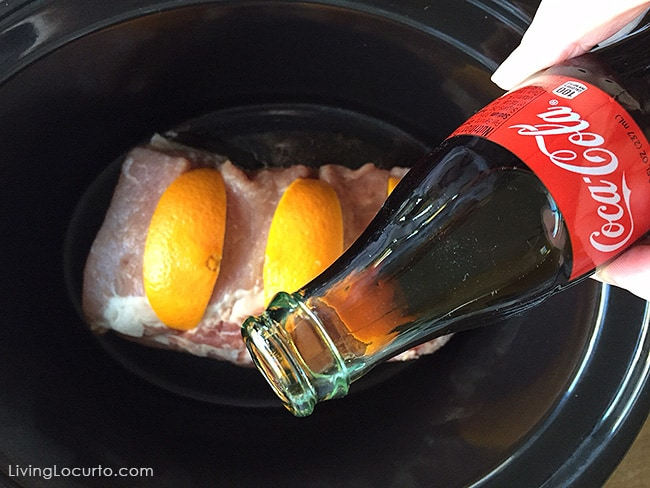3 Ingredient Slow Cooker Coca-Cola Pork Roast. A mouthwatering Crock Pot meal made tender with Coca-Cola.