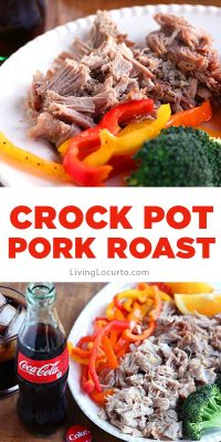 Easy Crock Pot Pork Roast