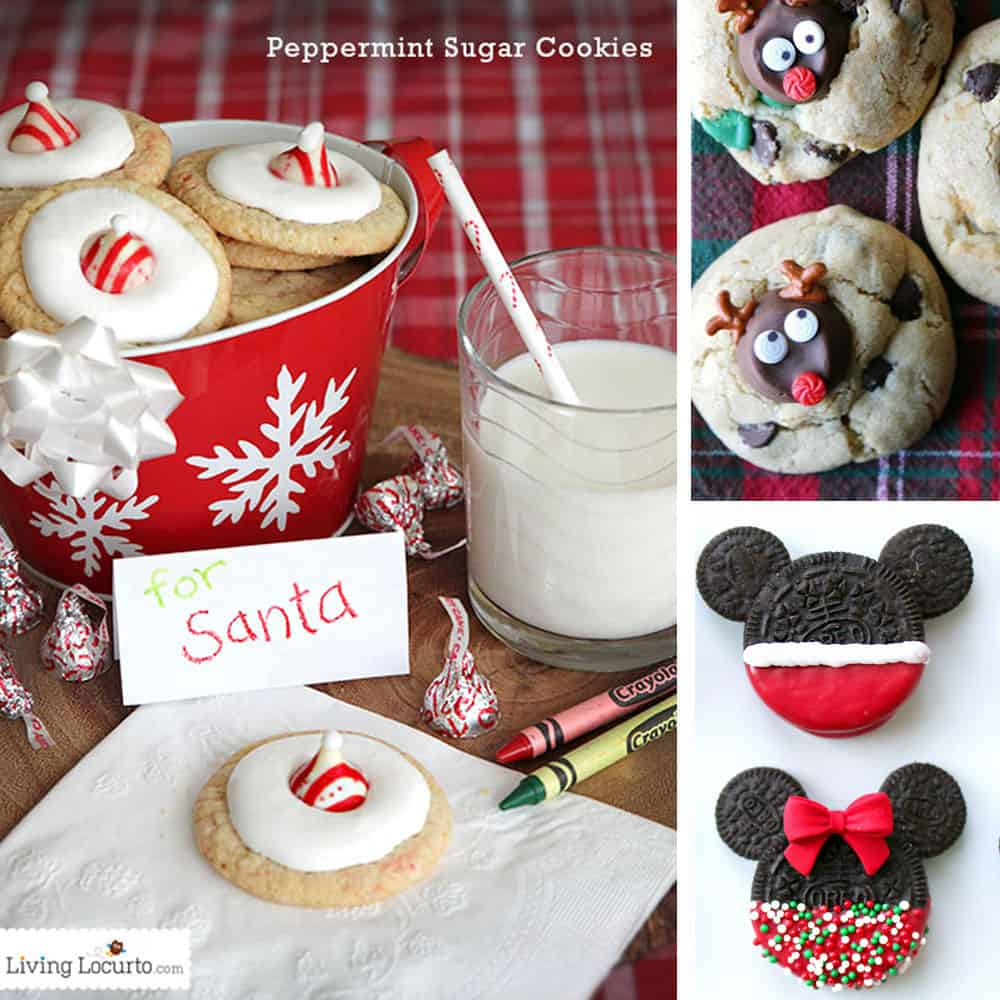 Cute Christmas Cookies to inspire you this holiday. Easy cookie recipes to make with kids!