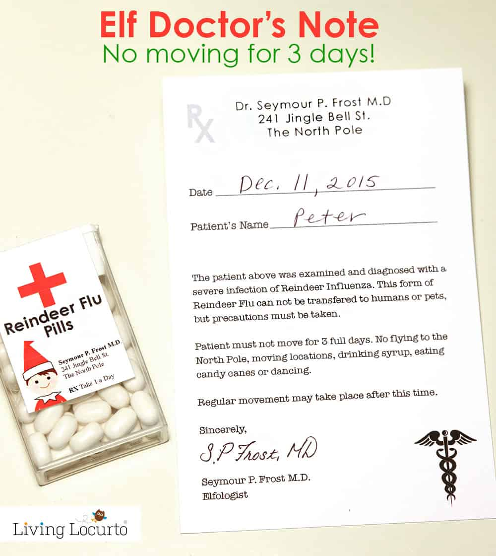 Elf Doctors Note – Doctor Note