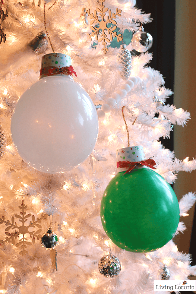 Giant Balloon Christmas Lights and Ornaments | DIY Holiday ...