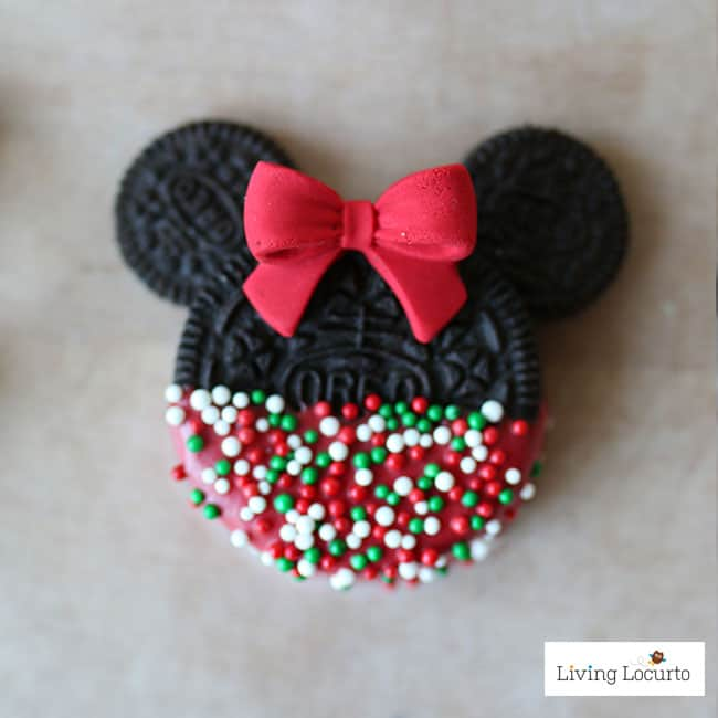 Mickey minnie mouse christmas cookies no bake disney for Christmas cookies to make for gifts