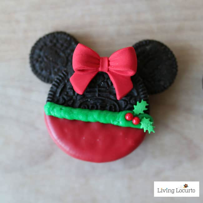 adorable no bake mickey minnie mouse christmas cookies made with oreos fun disney themed