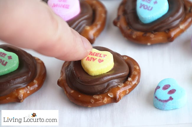 valentines day chocolate pretzels are perfect for school parties or gifts kids will love picking