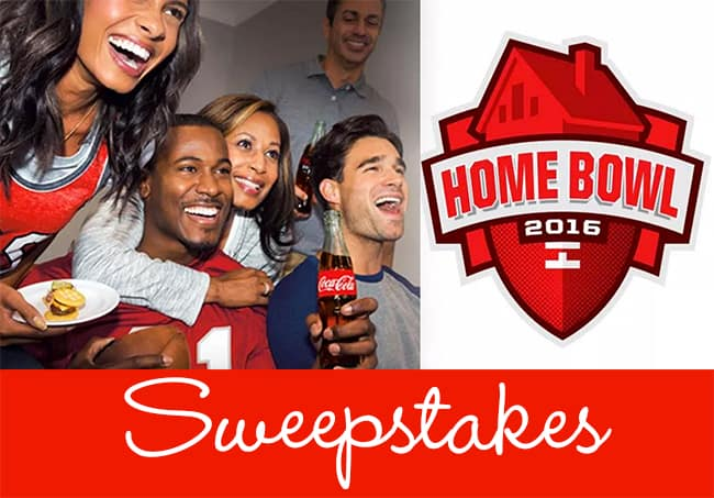 "Enter the Coca-Cola & NABISCO ""Home Bowl"" Sweepstakes!"