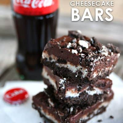 Chocolate OREO Cheesecake Bars