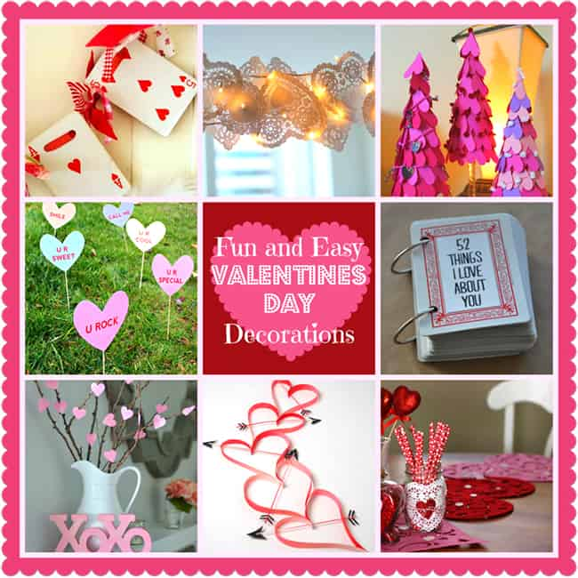 DIY Home Decoration Ideas For Valentines Day Easy To Make Decor Crafts
