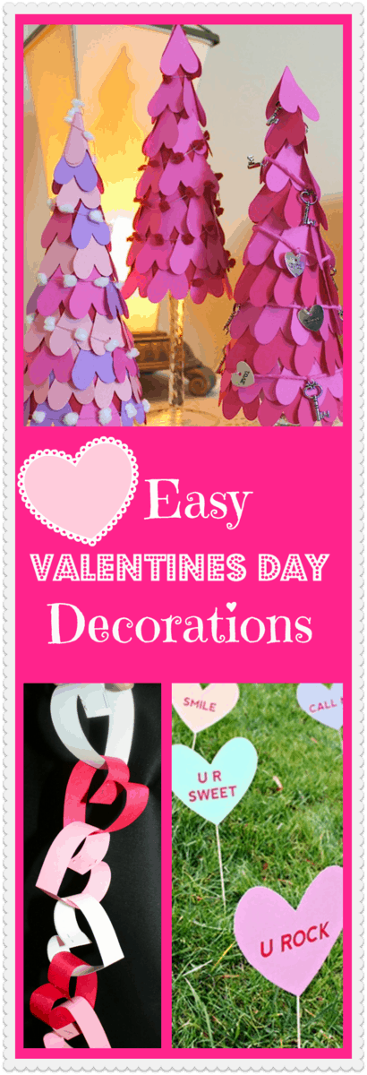 Arts and crafts ideas for valentine 39 s day displays for Valentine s day home decorations