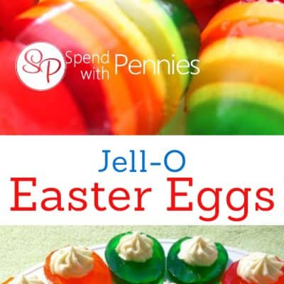 Jello Easter Eggs