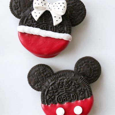 Mickey and Minnie Mouse Oreo Cookies