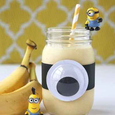 Healthy Minions Banana Smoothie