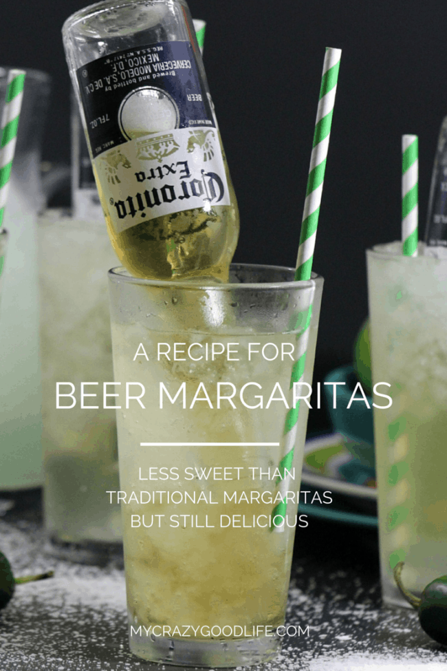 Beer Margaritas. The Best Margarita Recipes ever! From Strawberry and Blackberry to Pineapple and Coconut, you'll find a frozen cocktail perfect for party drink or a hot summer day! LivingLocurto.com