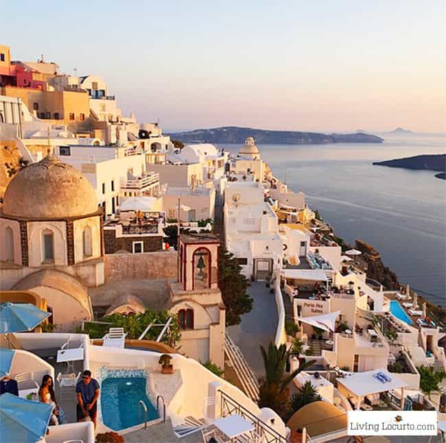Santorini, Greece. Greek Islands Travel Photo. LivingLocurto.com