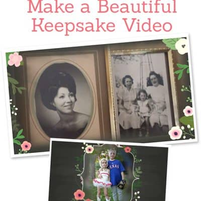 Mother's Day Keepsake Gift with Animoto Video