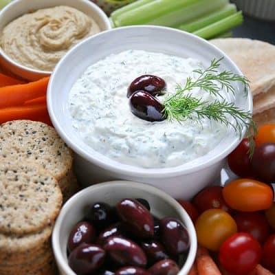 Homemade Greek Tzatziki Recipe