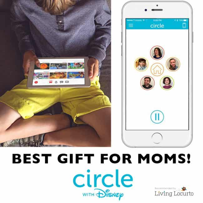 Such a great gift idea for Mothers or Fathers day! Circle with Disney - Best way to manage ALL online devices in your home. Perfect for the technology challenged parent. LOVE This!!
