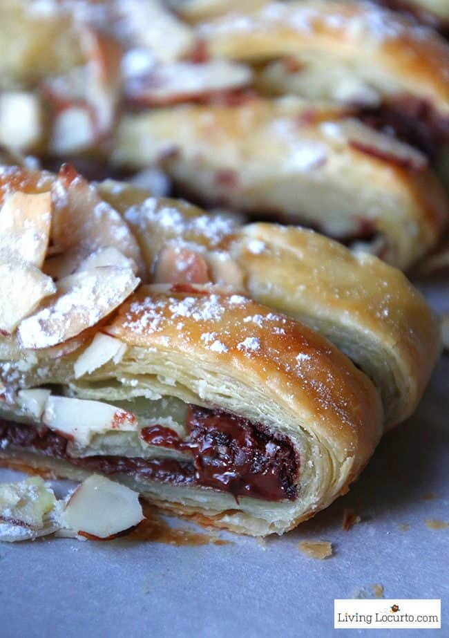 Chocolate Braid Recipe Easy Puff Pastry Dessert Or Breakfast