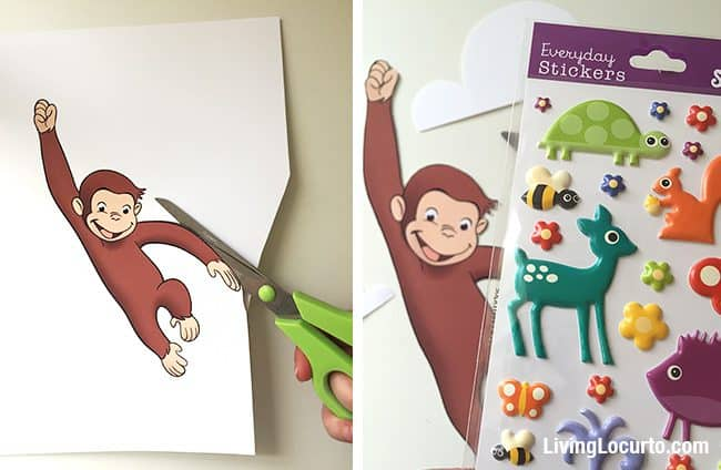 Curious George Cucpakes Balloon Cake Recipe Living Locurto